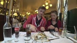 Eating Snails In France