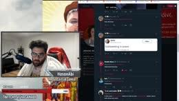 Hasan reacts to Kaceytron taking ish about Trainwreckz in Discord when she was on Rajj's stream