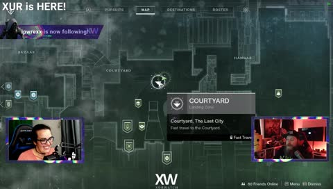 XUR LOCATION 6/28