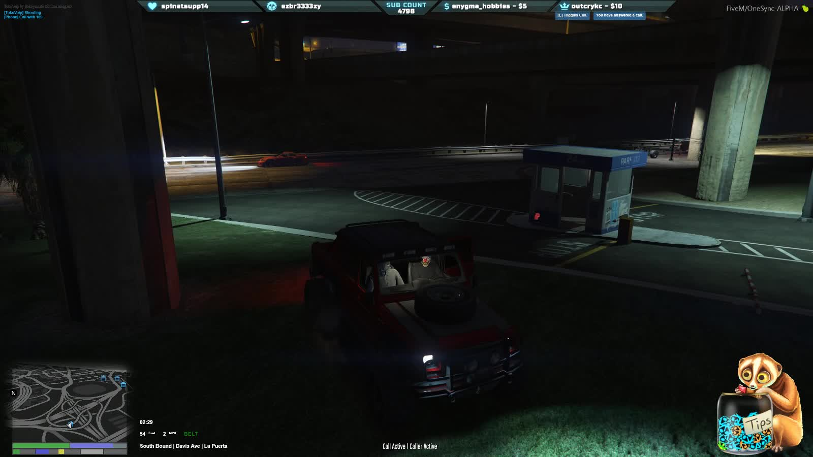 Kyle - Pimp's being phone tapped - Twitch