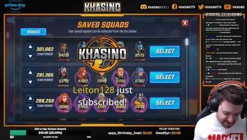 Khasino Discord Channel