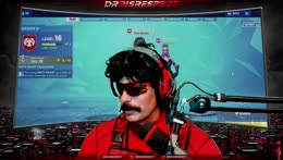 Dr. Disrespect congratulates Arkhram1x on joining 100T