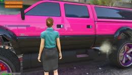 Brenda makes out with car.... BLELELELELELELELELELE