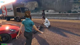 I think you just got run over