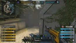 Tham Ace After Being Hit by Teammate's Smoke