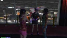 Kiki evaluates Ellie's fashion sense