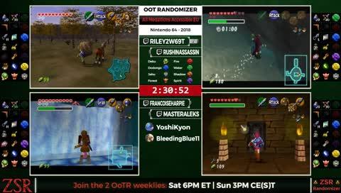 OoT Randomizer Tournament: LB Round 1 - Marco8641 vs  maxx