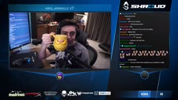 That first sip that gives you Shroud POWER!!!