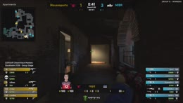 Chicken obscures ropz' [Mousesports] view from balcony against MIBR [DHM Stockholm 2018]