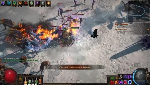 秒でRIP ~3rd map after Glacier farmer debut~