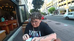 Andy Milonakis Gives $100 Tip on a $4 Bill