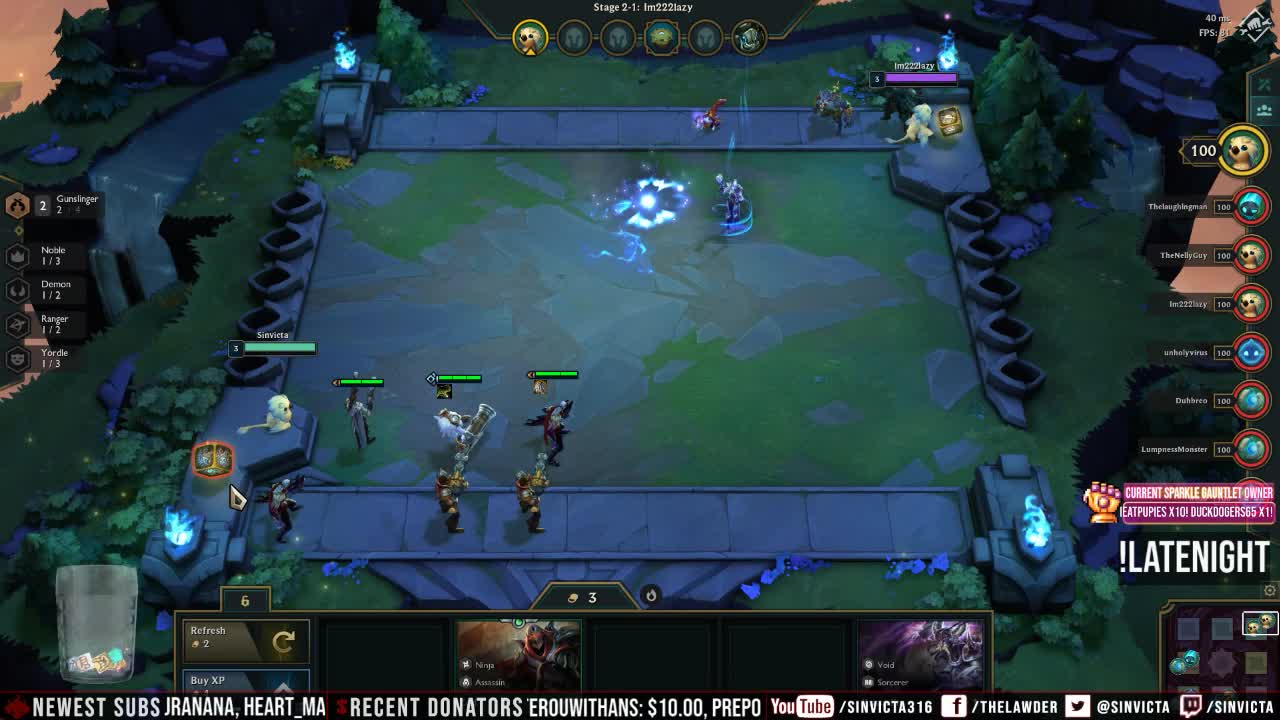Sinvicta - Recurve Bows Now Grant Flight! (TFT) - Twitch