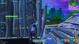 He's just out here playing sniper shootout