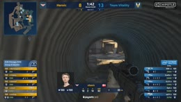friberg breaks through the defense with a 4k (Overpass)