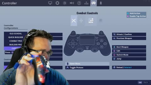 Controller and binds change