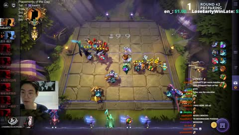 Bebe reaches 10k MMR in Underlords with sick TB3 + Warlock