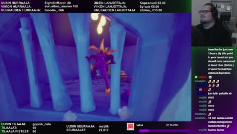 Valmis Spyro-peli :DD