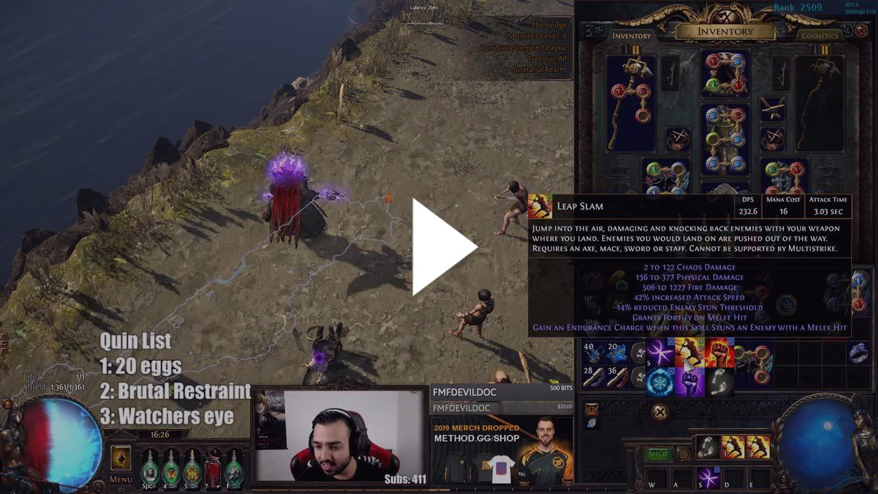 STEEL too much fun with new mtx celestial leap slam - Twitch