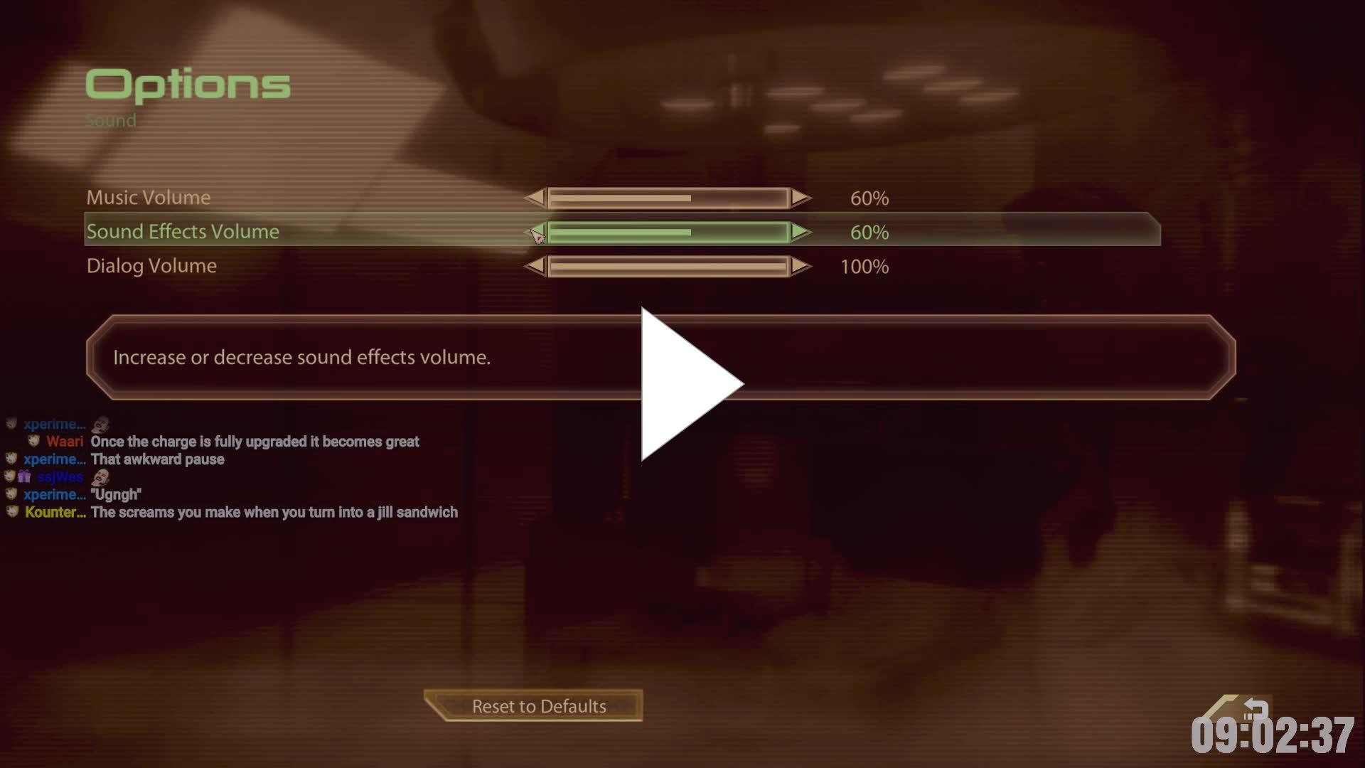 Streamer turns off music and sound effects - Twitch