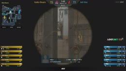dav1dK - 4 quick AK kills (3 HS) on the bombsite B defense (vs mostly upgraded pistols)