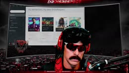 DrDisrespect wants to be struck by lightening