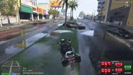 KING CRIMSON Car Chase (Cop POV)