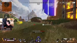 Cloakzy wins his first Apex Legends game