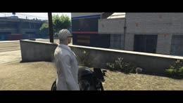 Uchiha gets knocked from his Bike