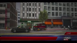 Legion Square traffic stop/Runaway. with faces in red car