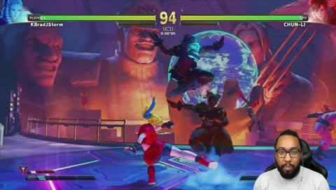 KBrad tries Dark Chun