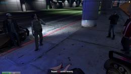 mikey pistol whips and tony kills mikey