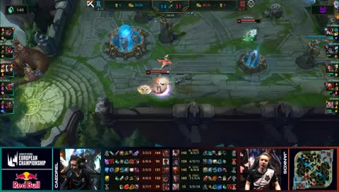 Caps gets kicked into Fountain before a single inhibitor tower goes down