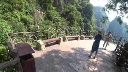 Jake showcases China mountain views