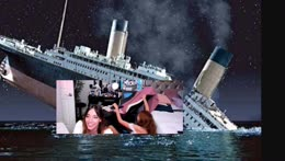 Alternate scene of the Titanic
