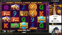 Big win 335€+229€+ fin bonus