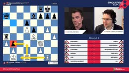 Top level chess commentary