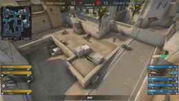 interz - 4 M4A1-S kills (2HS) on the bombsite A retake