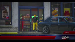Gas station robbery1 - GET TAZED!!