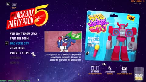 The Jackbox Party Pack 5 Game Trending 30d EN | Twitch Clips