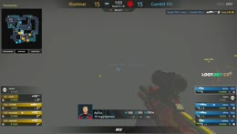 interz - 1vs2 AWP clutch (CT - post-plant situation)