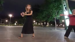 Jinny's Taï Chi training lead her to perfom a Kame Hame Ha!