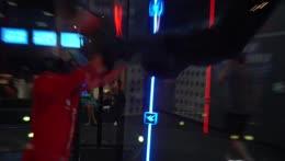 Miz goes flying