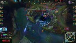 Faker+teamfight