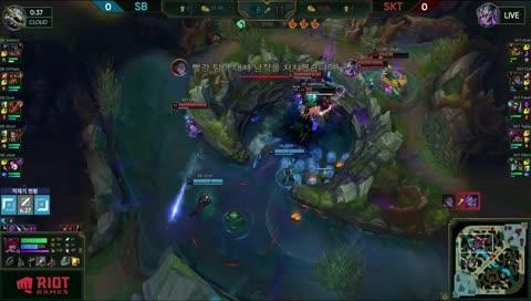 Faker teamfight