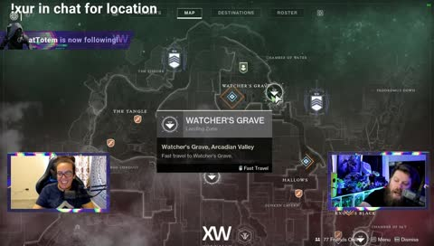 Xur LOCATION 8/23