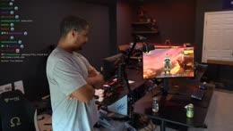 world of warcraft classic hype!! sodapoppin team gaming setup