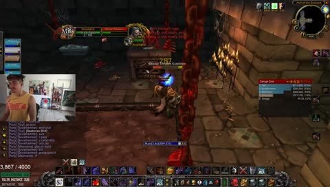 Sonii's mom watched his guild's first Ragnaros kill live (Sonii is the Guild Leader)