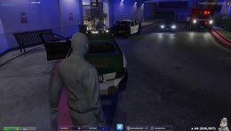 Mime Stealing Weapons Crate & Watches From Chang's Trunk