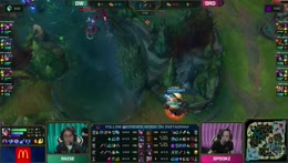 An Irelia and Xayah double give Dire Wolves the upper hand