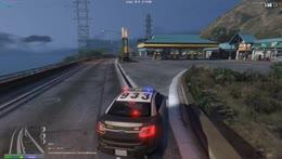 Pit stop mid pursuit